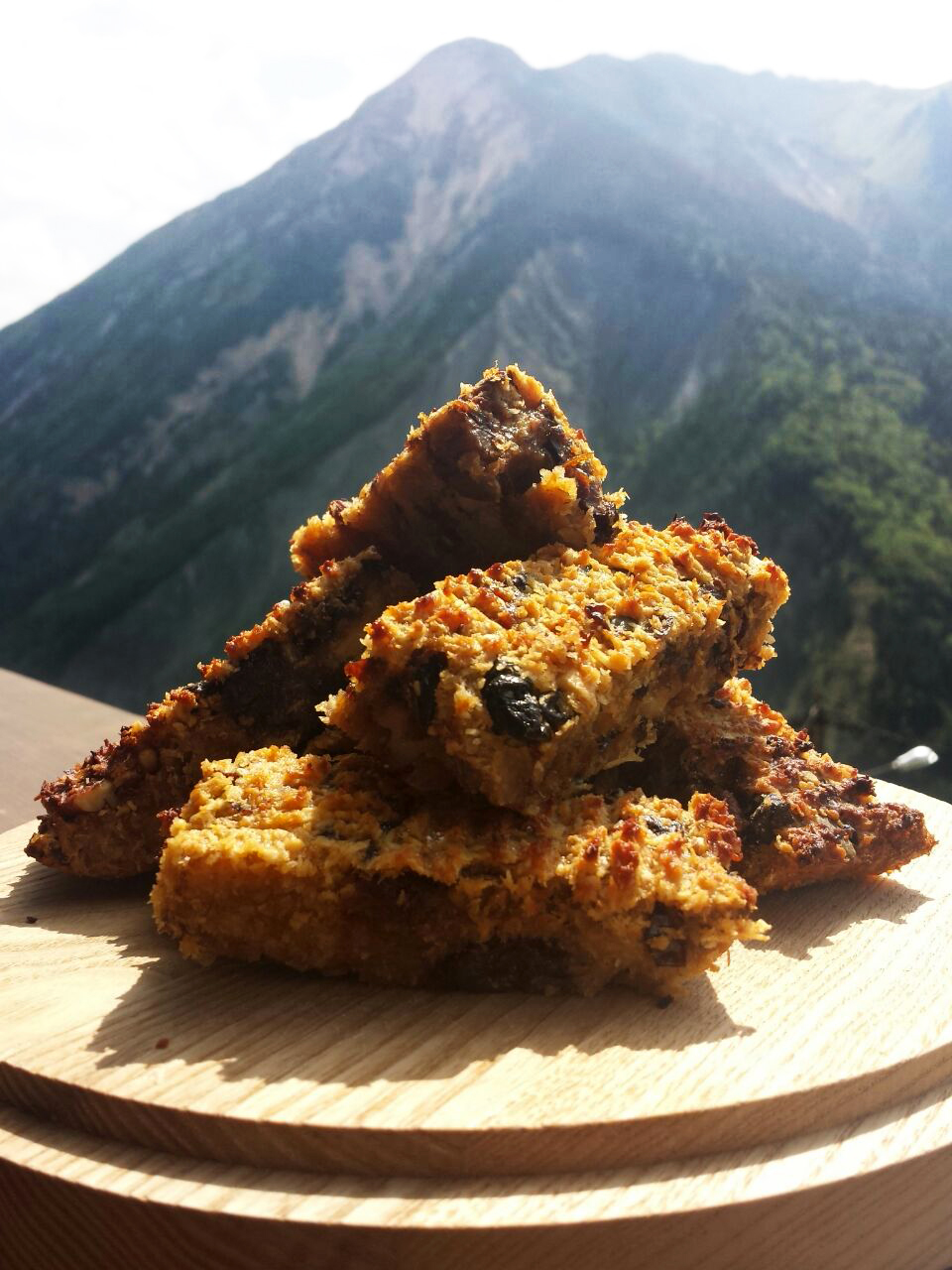 Date and Coconut energy bar recipe