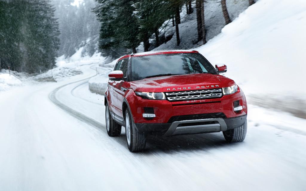 Land Rover Range Rover Evoque Snow