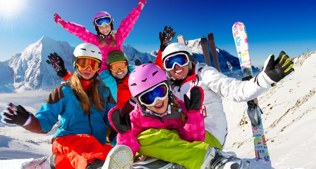 13 top tips for skiing with children!
