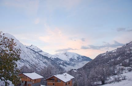 Stunning vistas from Chalet Alpage