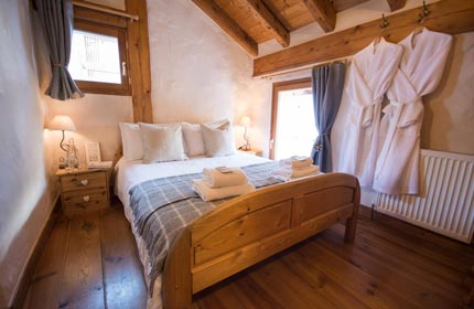 Bedroom 4 in Chalet Alpage, another wonderfully comfortable space