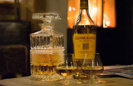 Relax with a wee dram