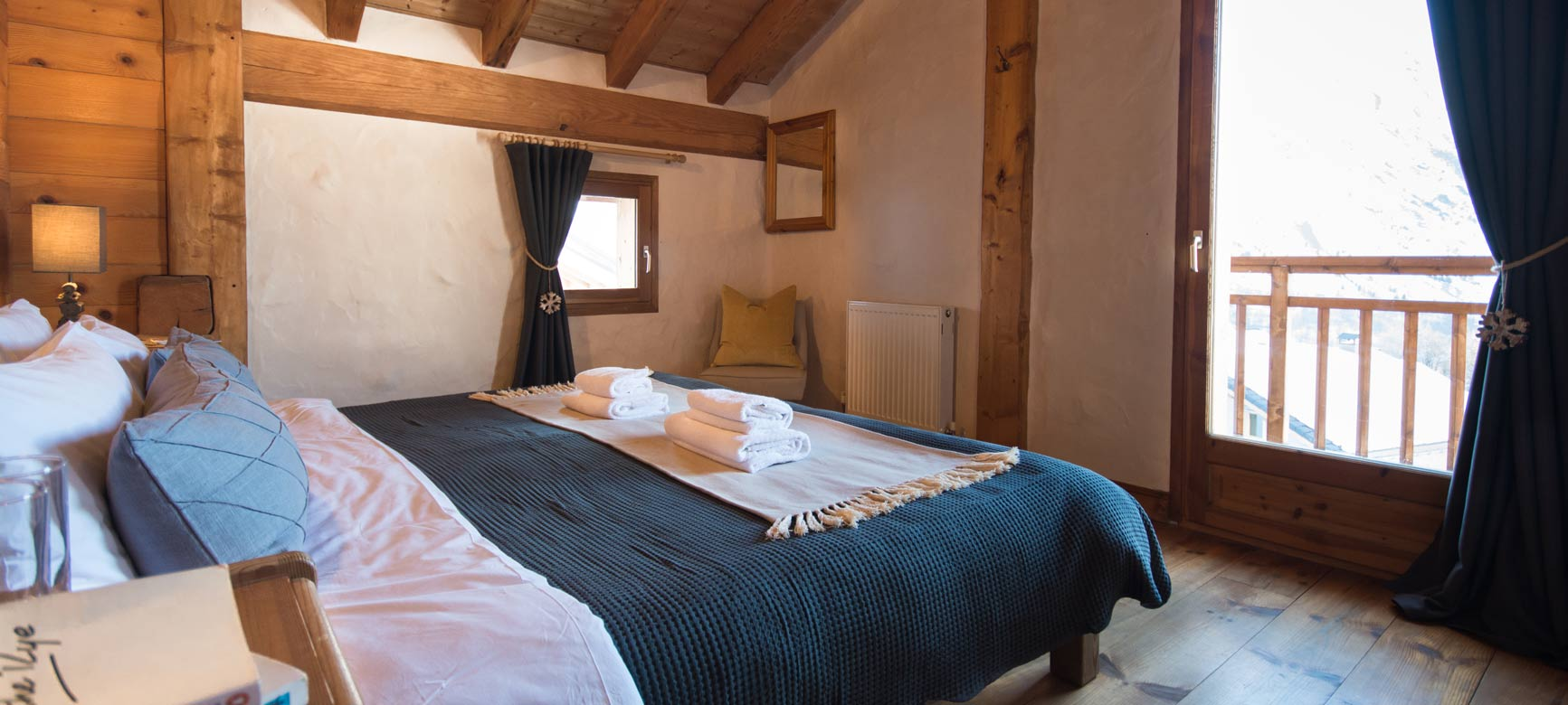 Luxuriously cosy bedrooms, all with en-suite facilities