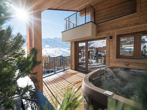 Chalets Cocoon Val Thorens is new to the Snow Trippin portfolio this winter!