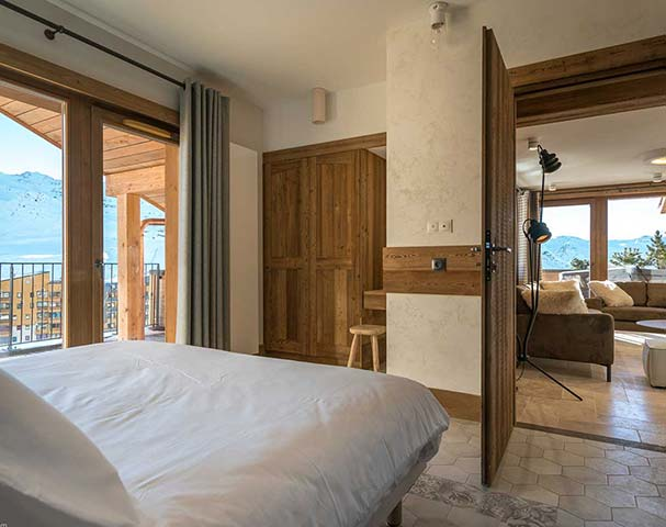 Chalets Cocoon Val Thorens - Private balconies and en-suite bathrooms in all of our apartments in Val Thorens.