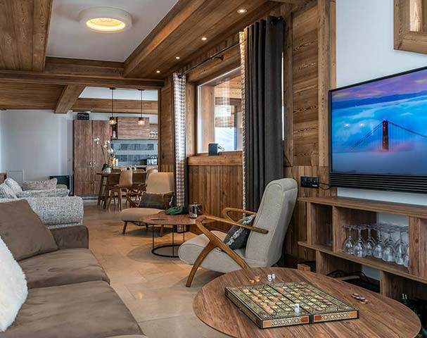 Chalets Cocoon Val Thorens - Bang and Olufson TV's, games and snug's for the kids. Visit us in Val Thorens and enjoy all the luxuries of home, and some that you can only get at Chalets Cocoon.
