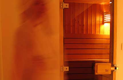 Luxury Chalet Sauna