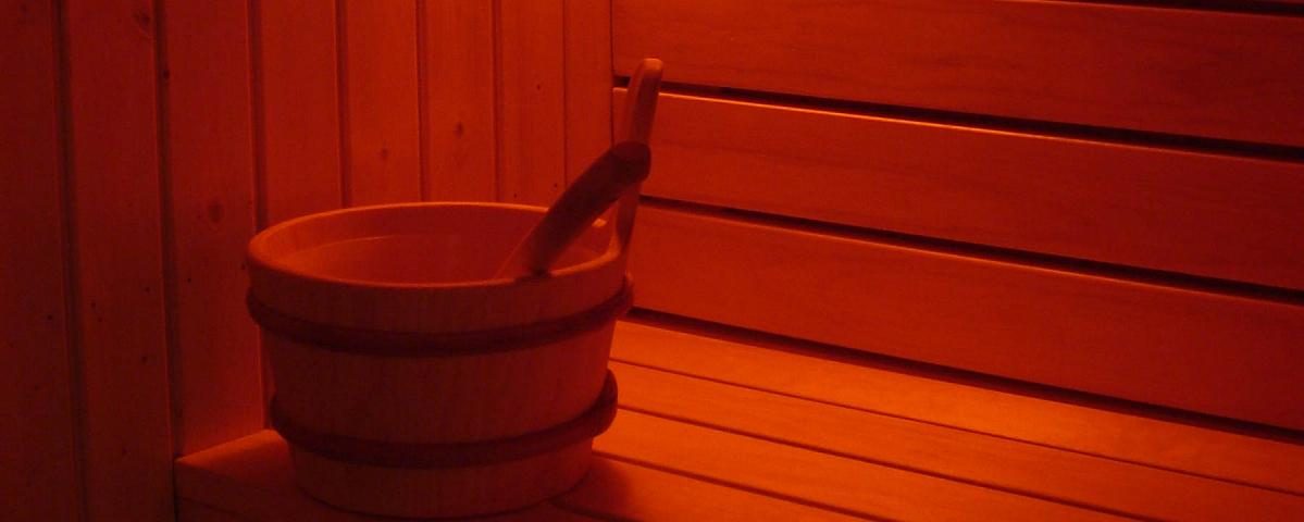 Sweat it out in our traditional Scandinavian Sauna