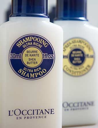 l'Occitane Luxury Toiletries