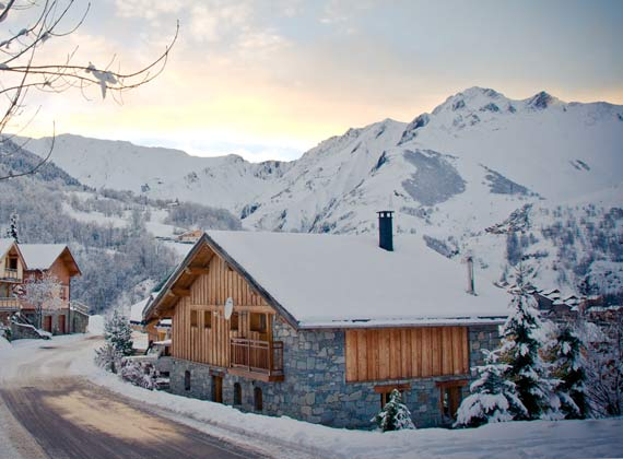 catered chalets in st martin de belleville the three valleys