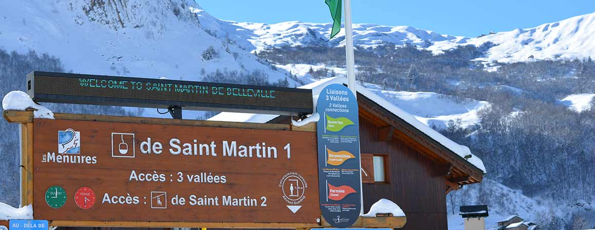 Welcome to St Martin de Belleville, Three Valleys