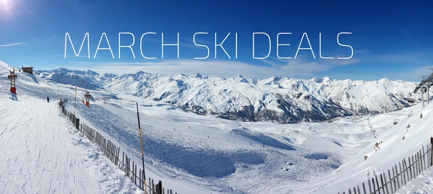 Fantastic Offers On Ski Holidays in March 2017