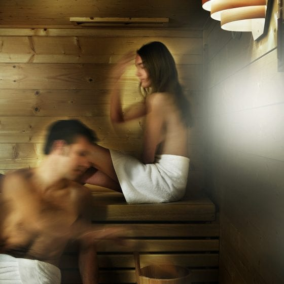 Sauna? Jacuzzi? Why not have both!